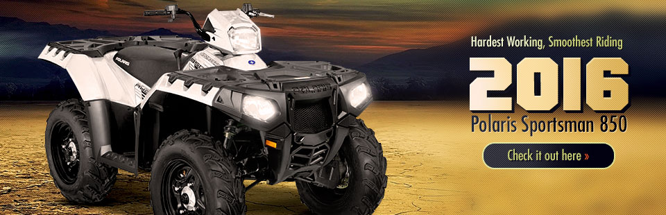 2016 Polaris Sportsman 850: Click here for details!