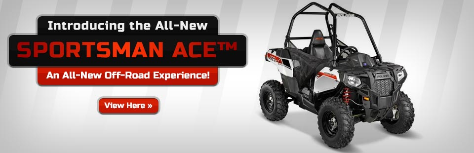View the 2014 Polaris Sportsman ACE™.