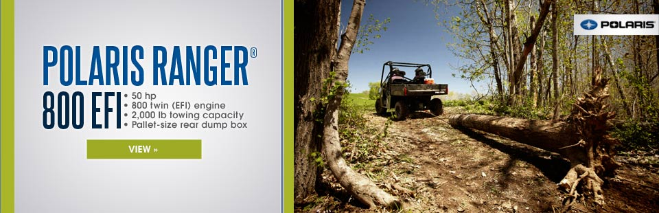 Click here to view the Polaris Ranger® 800 EFI.