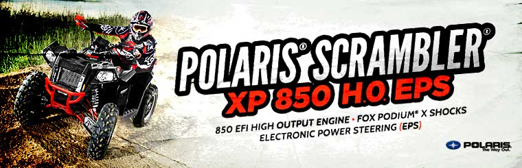 Click here to view the Polaris® Scrambler® XP 850 H.0. EPS.