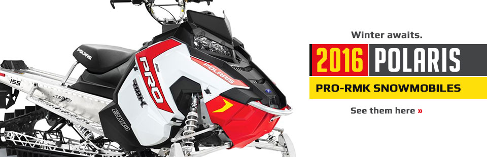 2016 Polaris PRO-RMK Snowmobiles: Click here to view the lineup.