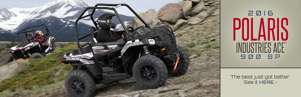 2016 Polaris Industries ACE™ 900 SP: The best just got better! Click here for details.