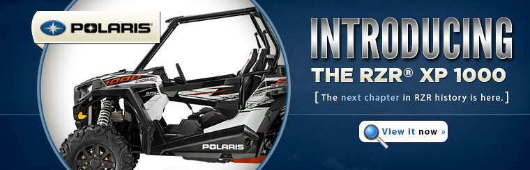 Check out the 2014 Polaris RZR® XP 1000.