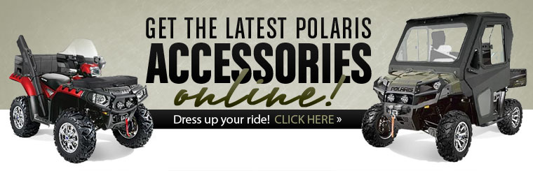 Click here to browse the latest Polaris accessories online!