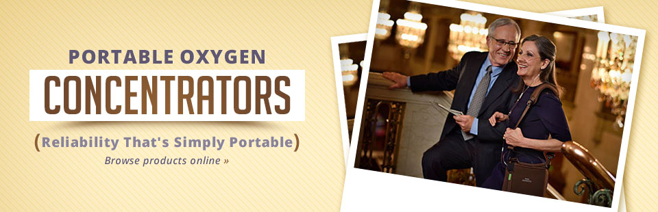 Click here to browse our selection of portable oxygen concentrators!