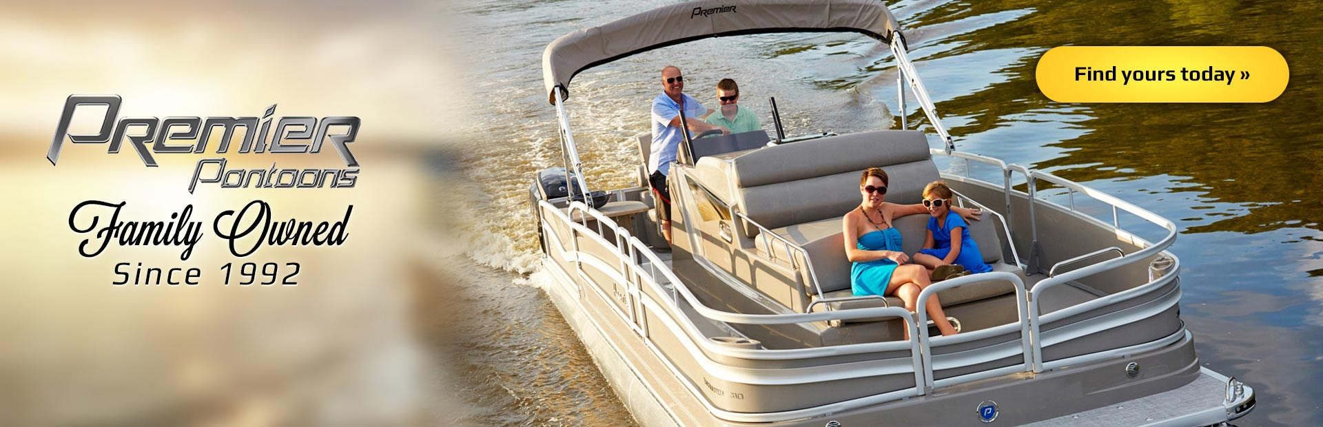 Premier Pontoons: Click here to view the models.