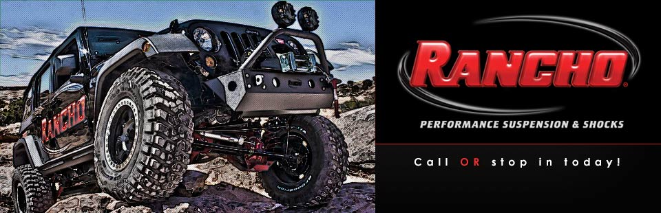 Click here to contact us for more information on performance suspension and shocks by Rancho.