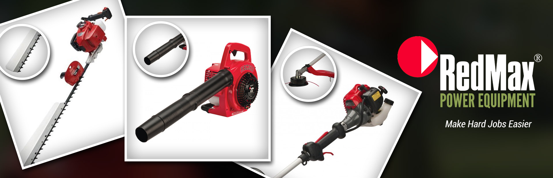 RedMax Power Equipment: Click here to view our selection.