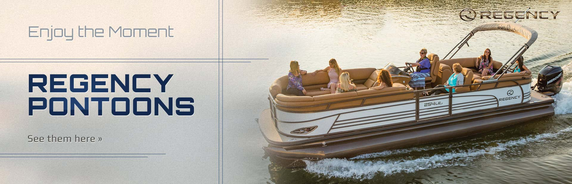 Regency Pontoons: Click here to see the lineup.