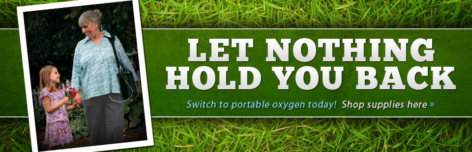 Click here to shop for portable oxygen supplies.