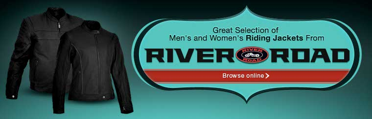 Click here to view River Road riding jackets.