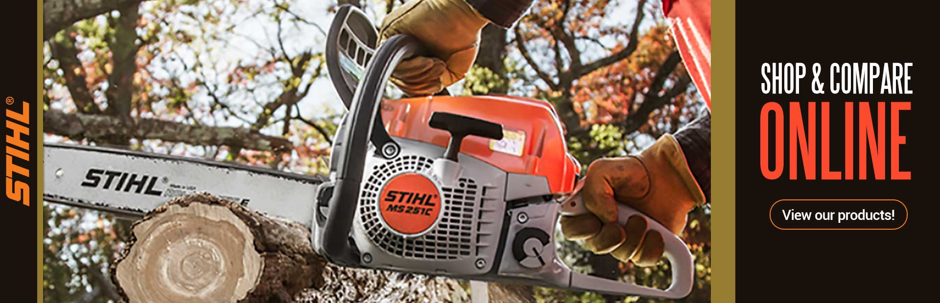 Click here to view equipment from STIHL.