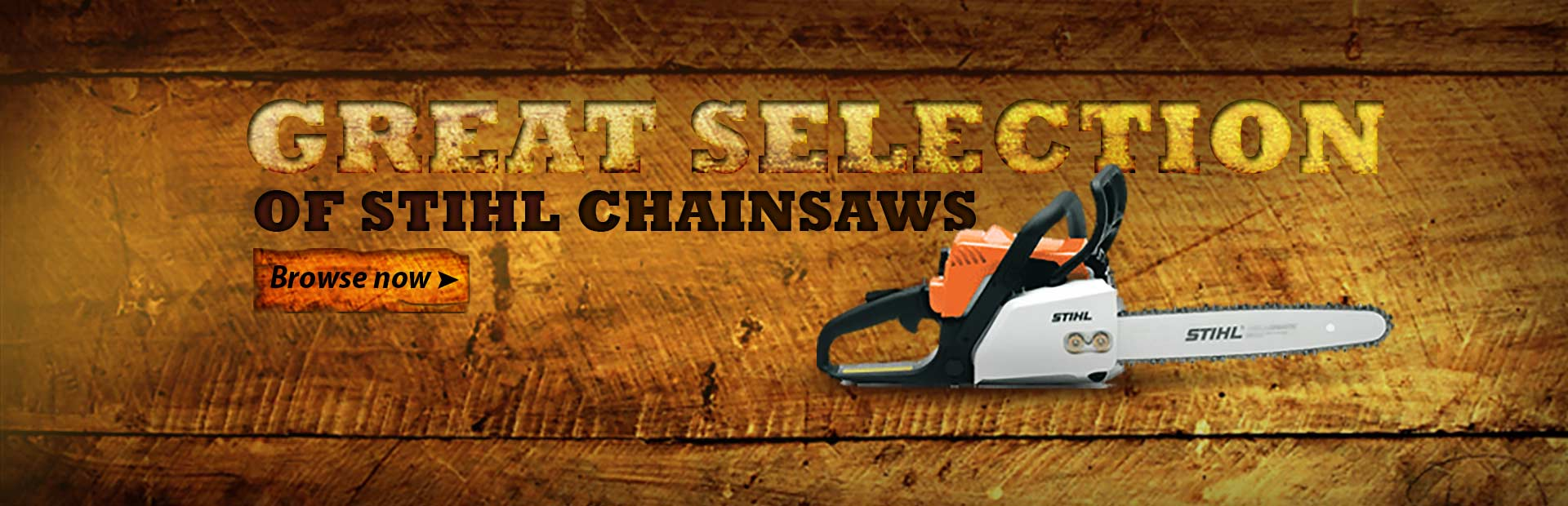 Click here to browse our great selection of STIHL chainsaws.