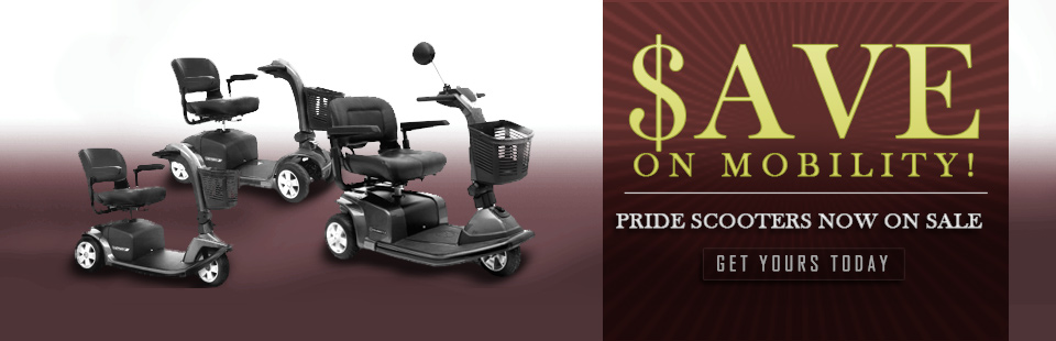 Pride Scooters are now on sale! Click here to shop now and get yours today.