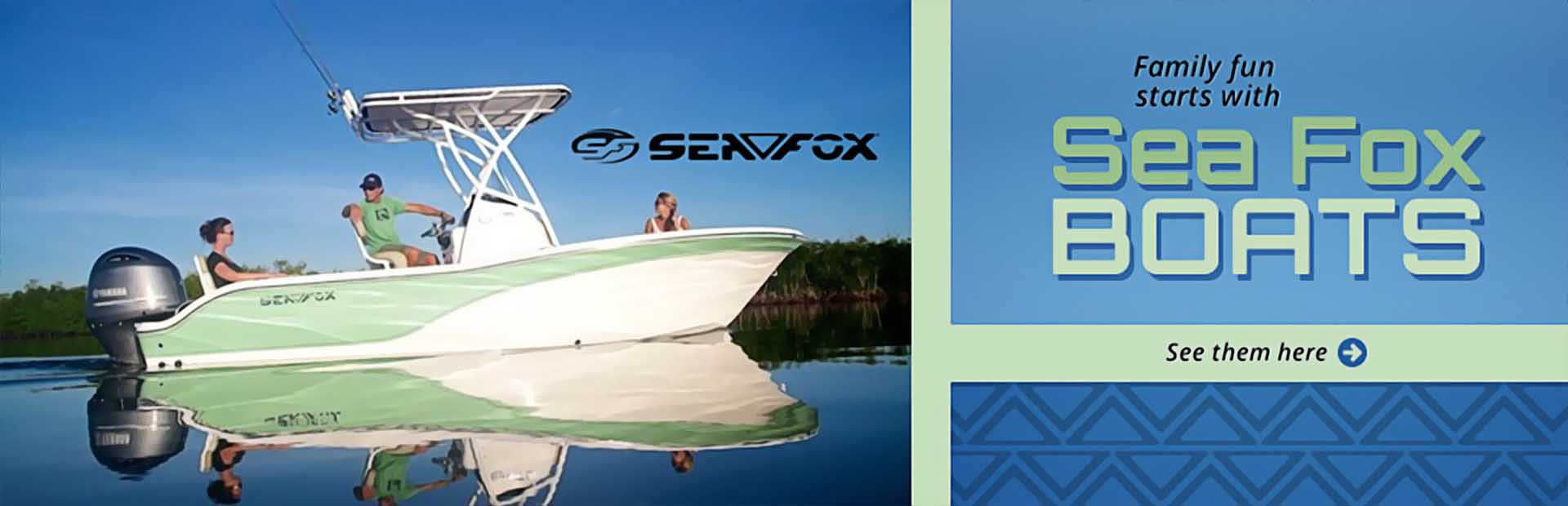 Sea Fox Boats: Click here to view the showcase!