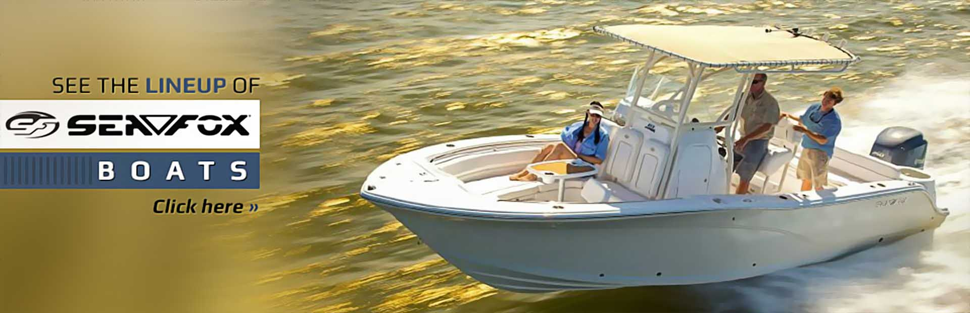 Sea Fox Boats: Click here to view the showcase!
