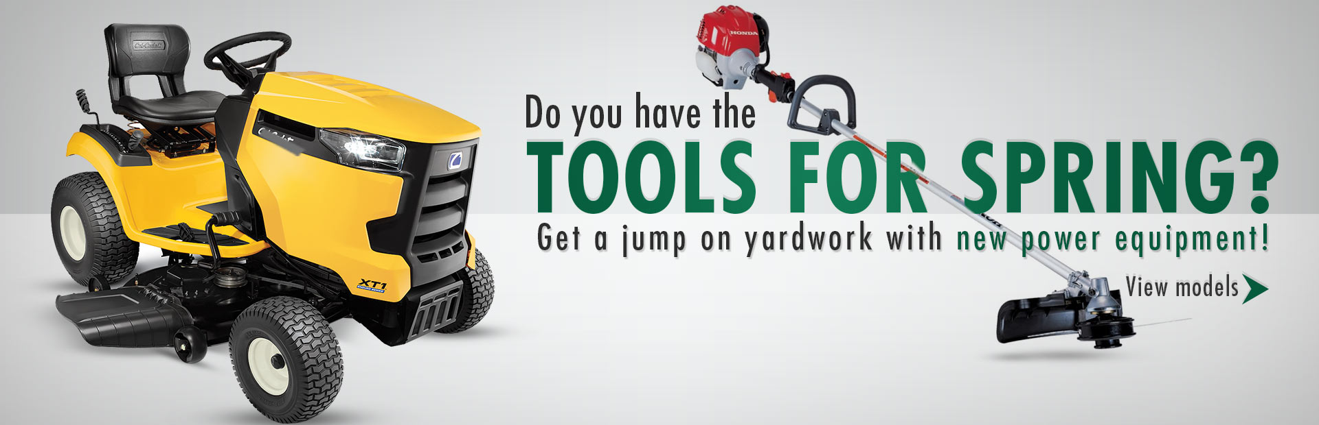 Click here to browse our selection of power equipment.