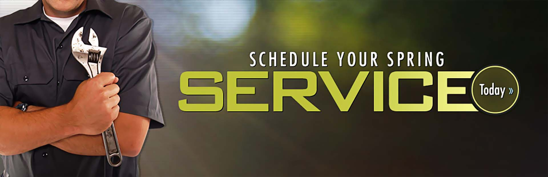 Schedule your spring service today.