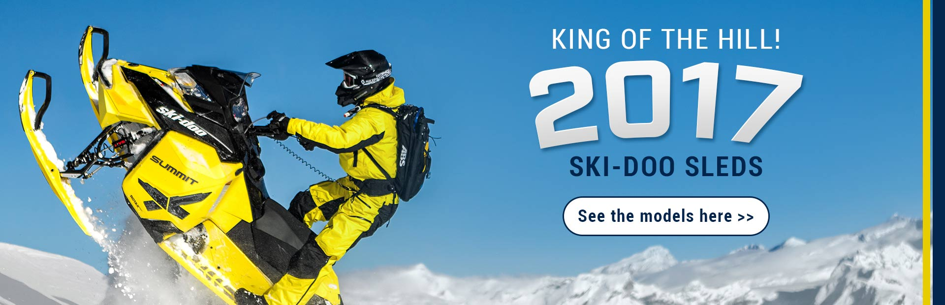 2017 Ski-Doo Sleds: Click here to see the models!