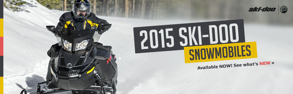View the 2015 Ski-Doo snowmobiles.