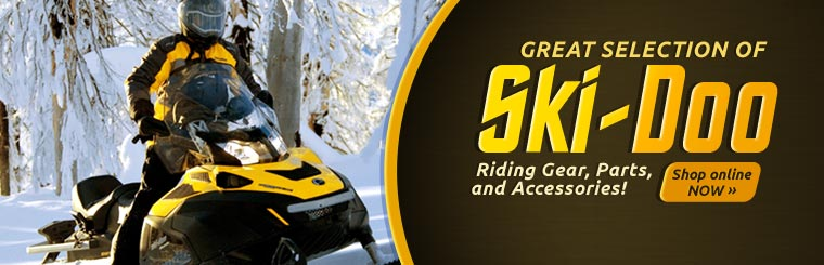 Click here to browse Ski-Doo riding gear, parts, and accessories.