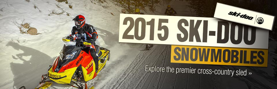 Click here to view the 2015 Ski-Doo snowmobiles.