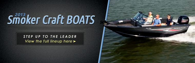 Click here to view the 2013 Smoker Craft boats.