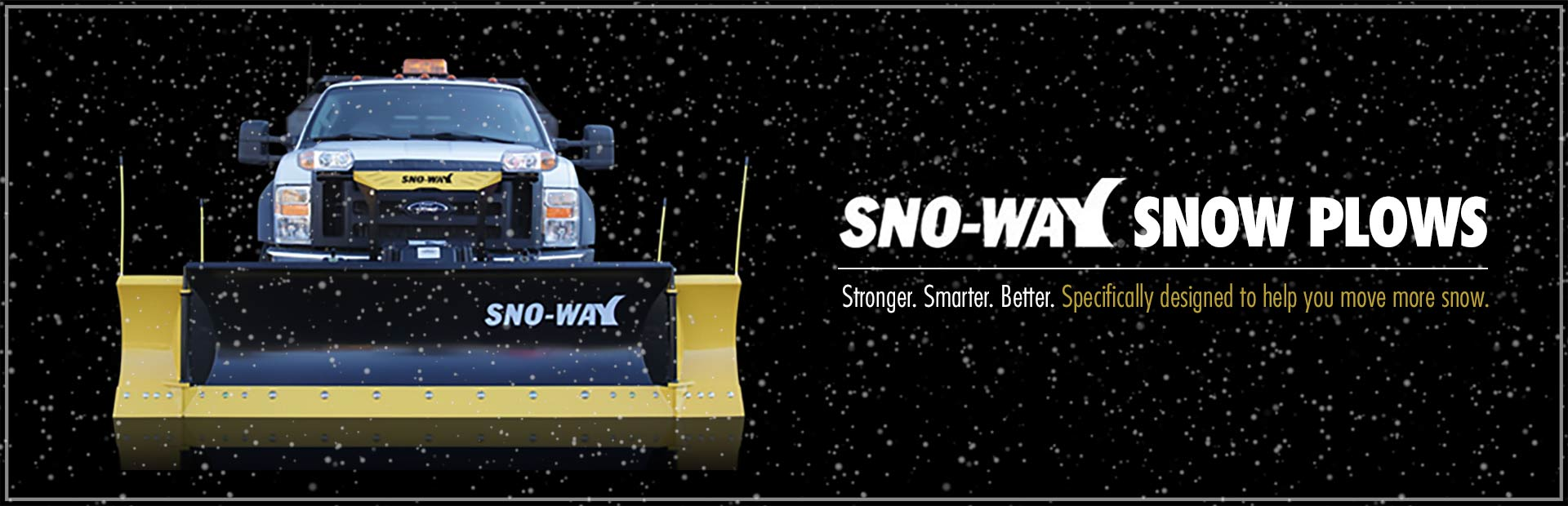 Sno-Way Snow Plows: Contact us for details.