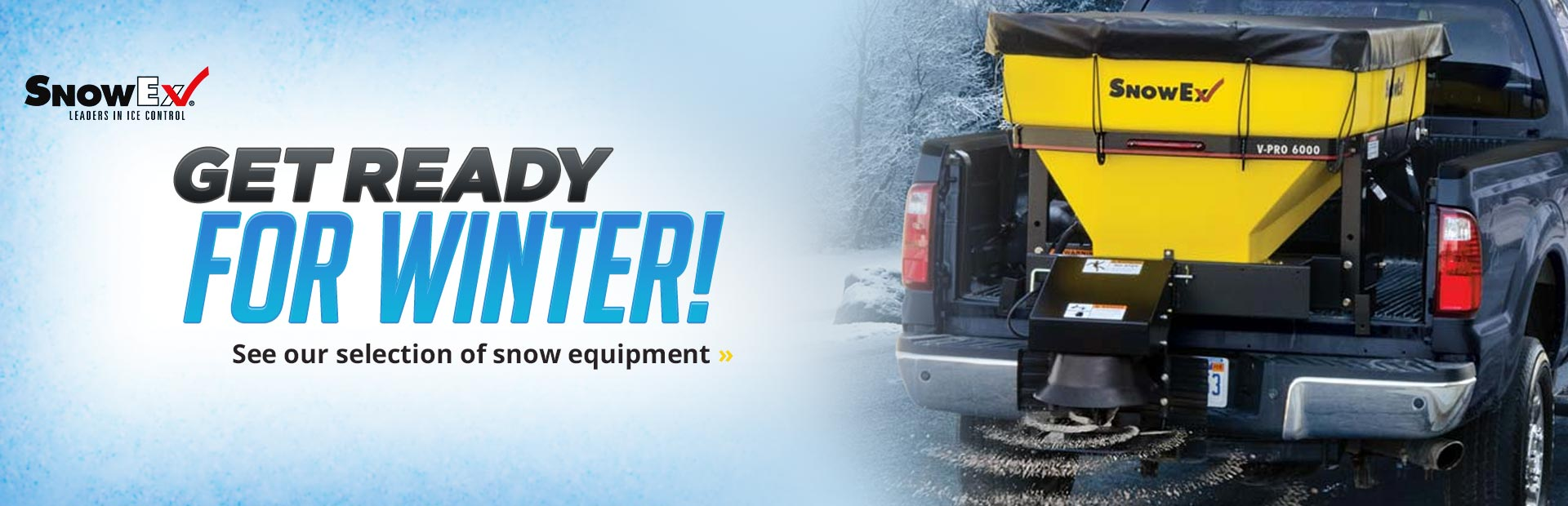 SnowEx Snow Equipment: Click here to view our selection.