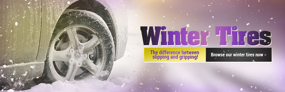 Winter Tires: Browse our selection online.