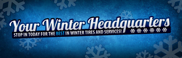 Stop in today for the best in winter tires and services! Click here to contact us.