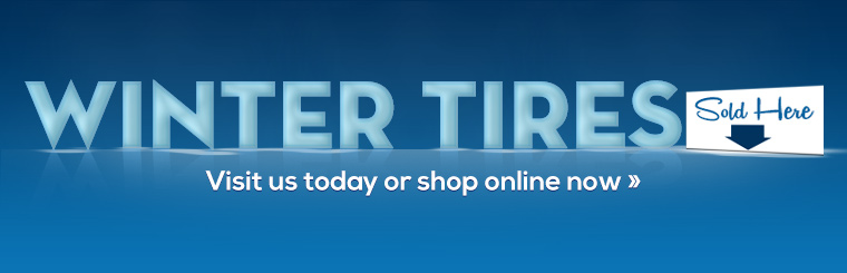 Winter Tires Sold Here: Click here to shop online.