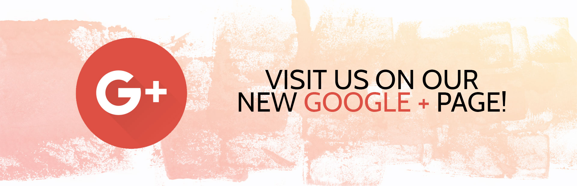 Click here to visit us on our new Google+ page!