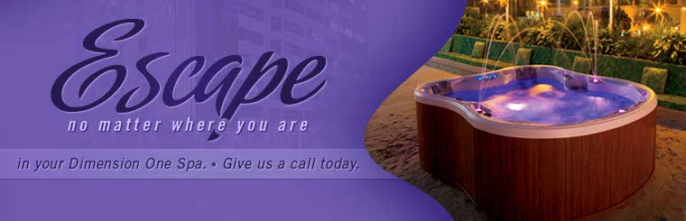 Escape no matter where you are in your Dimension One spa. Click here to contact us.