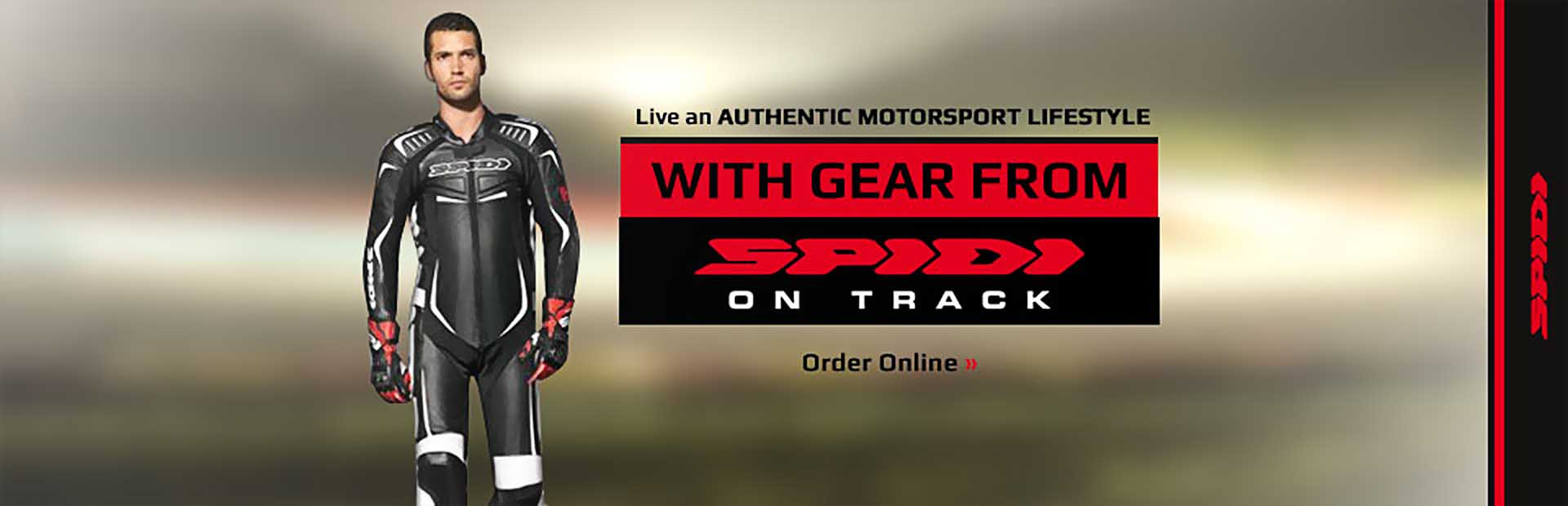Browse Spidi gear online.