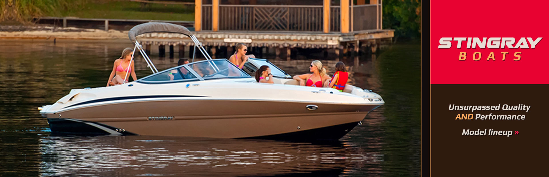 Click here to shop our selection of Stingray boats!