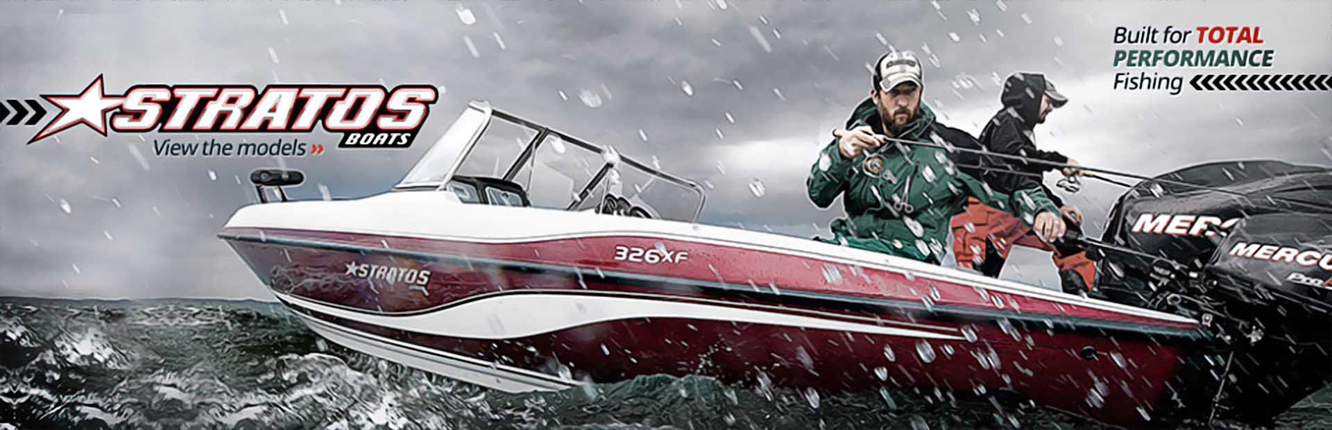 Stratos Boats: Click here to view the models.