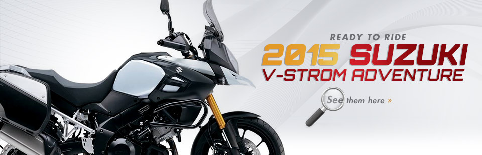 Click here to check out the lineup of 2015 Suzuki street bikes!