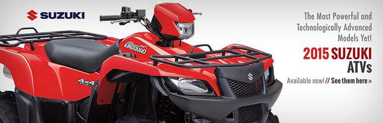 2015 Suzuki ATVs
