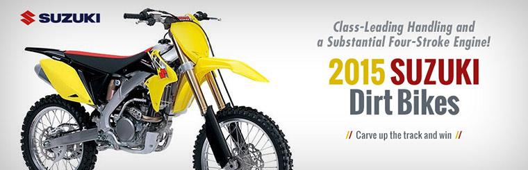 2015 Suzuki Dirt Bikes