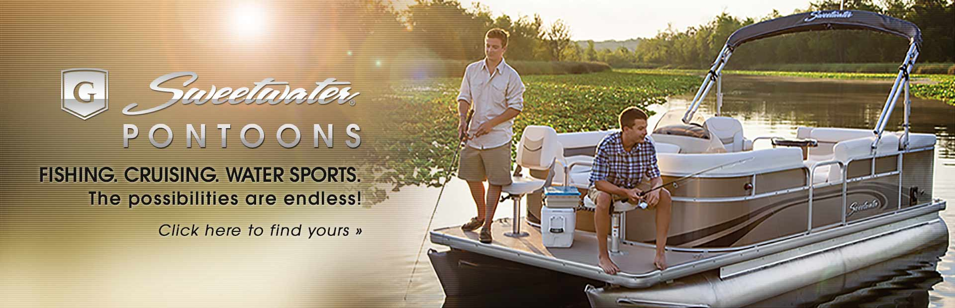 Sweetwater Pontoons: Click here to view the models.