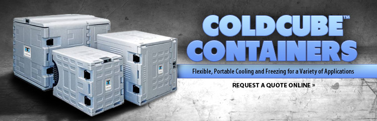 ColdCube™ Containers: Contact us for information.