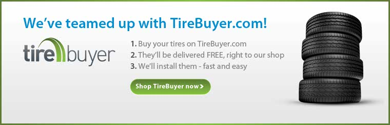 We've teamed up with TireBuyer.com! Click here to contact us for more information.
