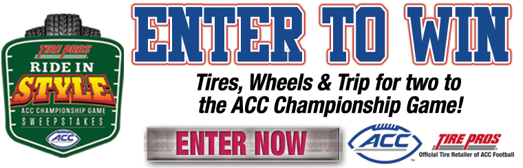 Tire Pros Ride in Style Sweepstakes: Click here for details.