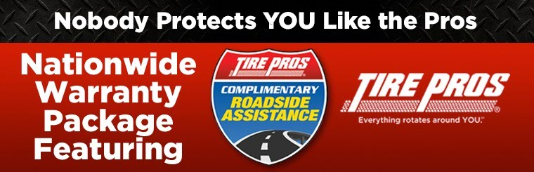 Nationwide Warranty Package with Roadside Assistance: Click here for details.