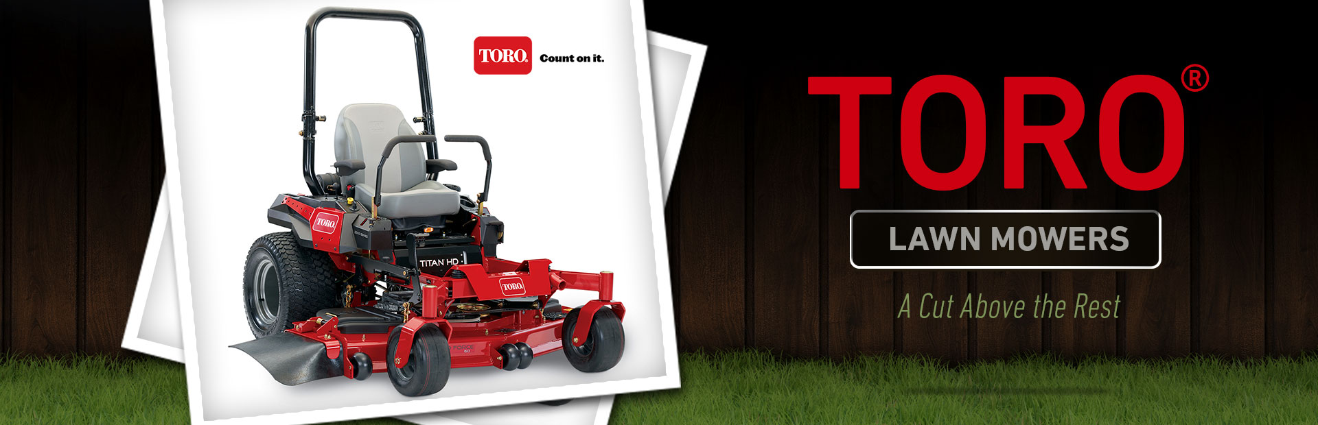 Toro Lawn Mowers: Click here to view the models.