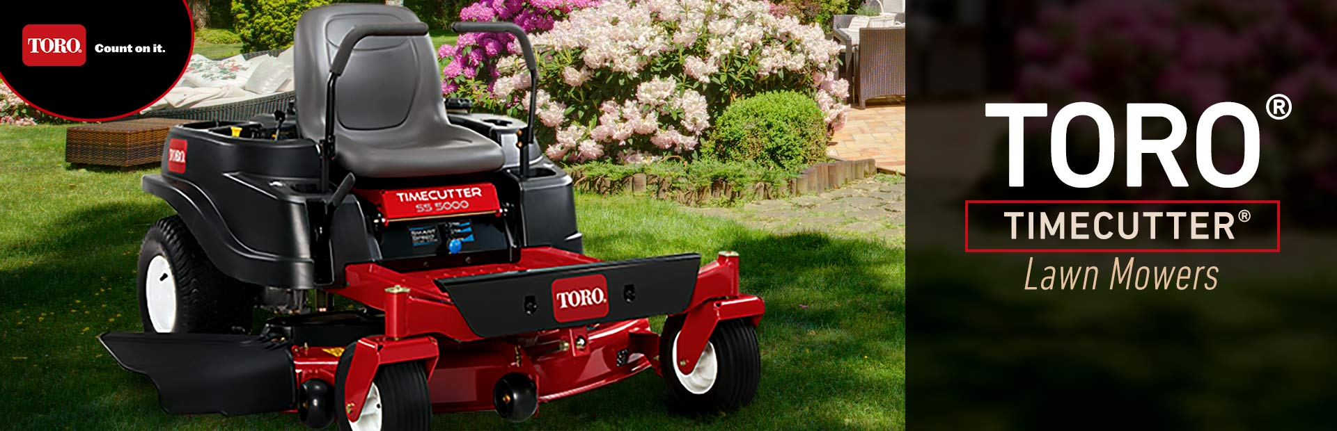 Toro TimeCutter® Lawn Mowers: Click here to view the models.