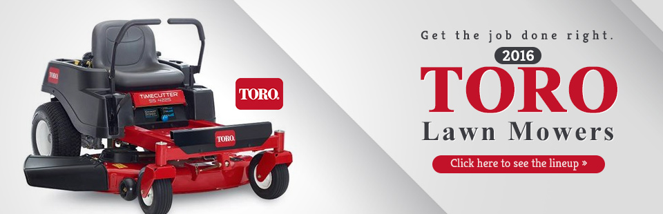 2016 Toro Lawn Mowers: Click here to view the models.