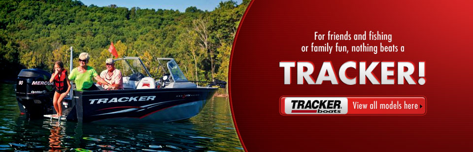 Click here to view Tracker boats.