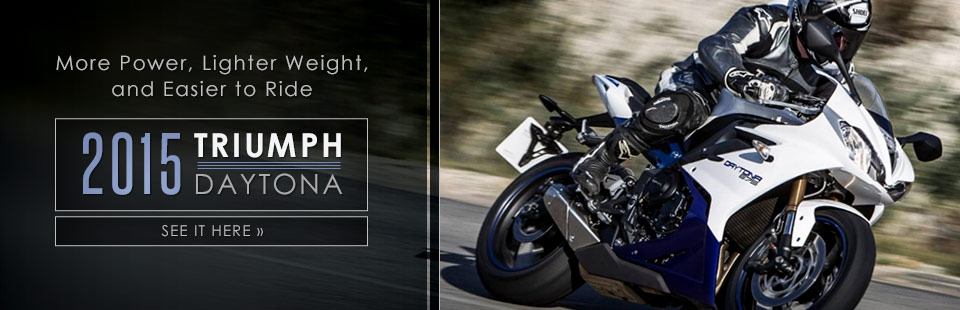 2015 Triumph Daytona: Click here for details!